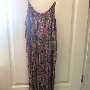 NWT Patterned Jumpsuit